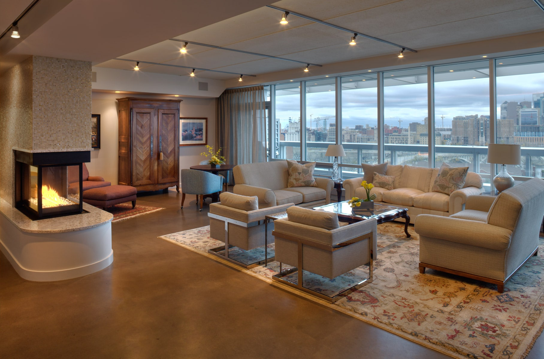 A Good Suggestion For Interior Design Contractor Is To Be Aware Of The  Lighting Level Within A Room. When Designing A Windowless Room, Use Light  Shades Of ...